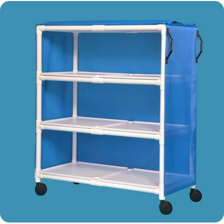 Standard Line Jumbo Linen Cart with Three Shelves (Jumbo Linen Cart)