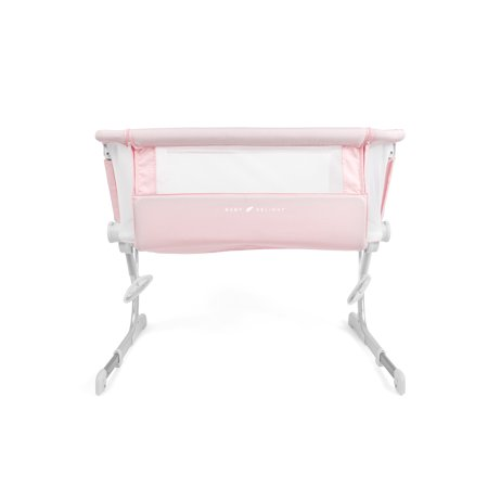 Baby Delight Beside Me Dreamer Bassinet & Bedside Sleeper - Peony Pink Fashion - Ages 0-5 Months - JPMA Certified