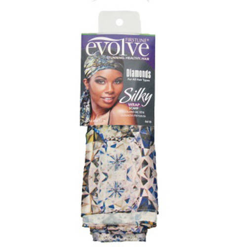 Evolve Silky Wrap Scarf-Diamonds