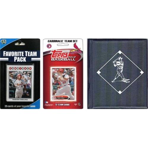 C & I Collectables 2012STLCARDTSC MLB St.  Louis Cardinals Licensed 2012 Topps Team Set and Favorite Player Trading Cards