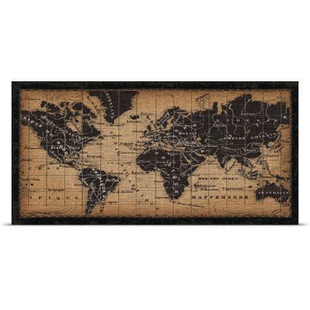 (Great BIG Canvas | Rolled Pela Studio Poster Print entitled Old World Map)