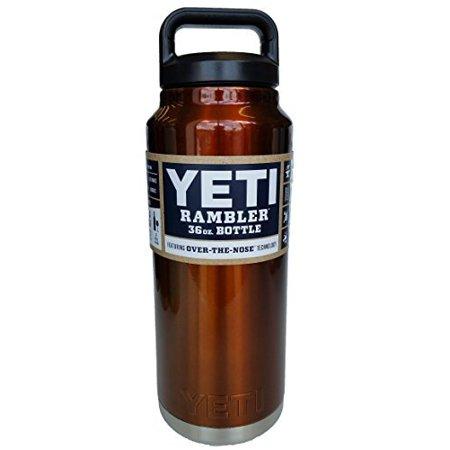 YETI Rambler Bottle - Colored - YRAMB36 - 36 oz - Burnt Orange