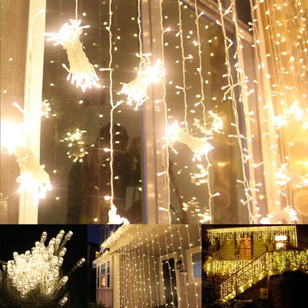 100 LED Twinkle Fairy Light String 33 Feet 8 Modes White/Warm White & Tail Plug Holiday Decoration](Holiday Decorations)