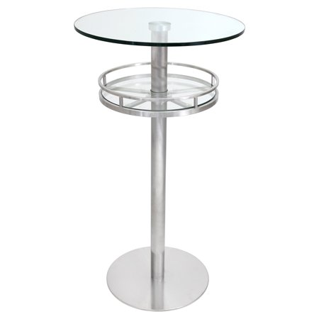 LumiSource Bora Round Pub Table