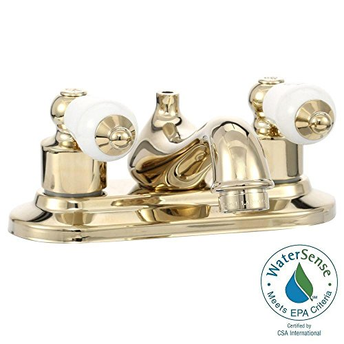 Glacier Bay Bath Faucet Polished Brass 102 823 Walmart Com