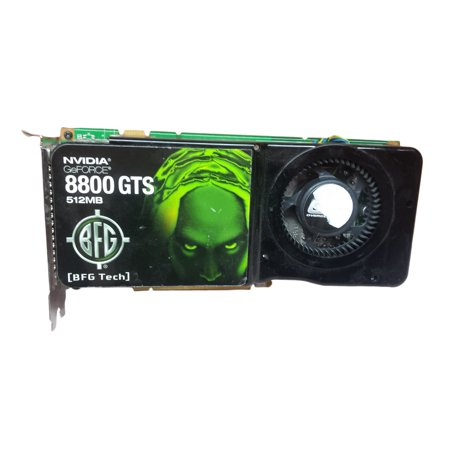 BFG NVIDIA GeForce 8800 GTS 512MB GDDR3 SDRAM PCI Express X16 Video Card