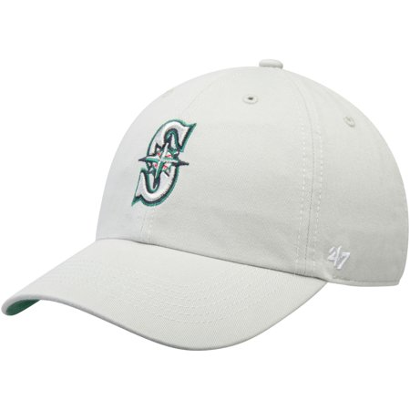 Seattle Mariners  47 Primary Logo Franchise Fitted Hat - Gray - Walmart.com 158796ce704