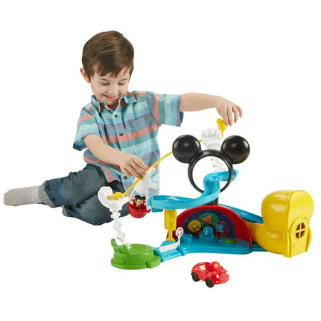 Disney Mickey Mouse Clubhouse Zip, Slide and Zoom Clubhouse Play Set Disney Gourmet Mickey Mouse