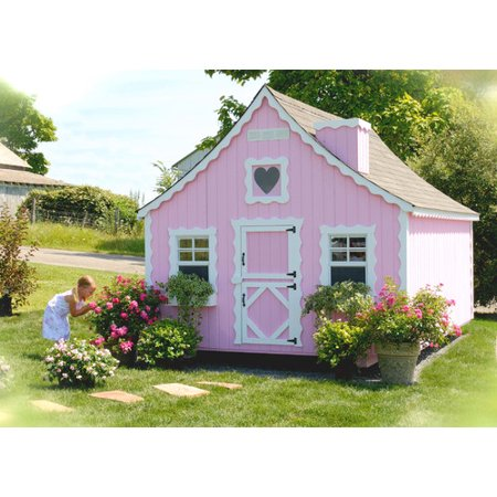 Amazing Gingerbread Playhouse Diy Kit 8X10 Interior Design Ideas Clesiryabchikinfo