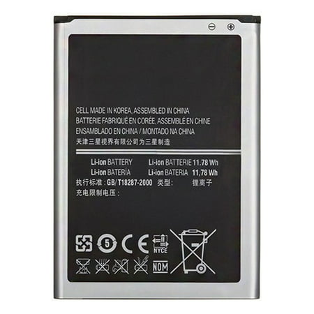 Replacement Battery 3200mAh for Samsung Galaxy Note 3 Verizon / SM-N900PZKESPR Phone (Galaxy Note 3 Model Number Sm N900)