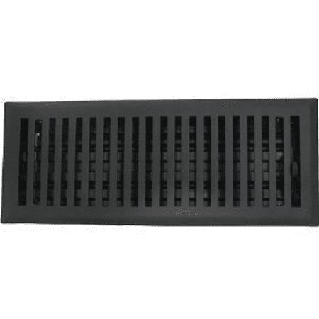 Contemporary Floor Register Brass Plated (2