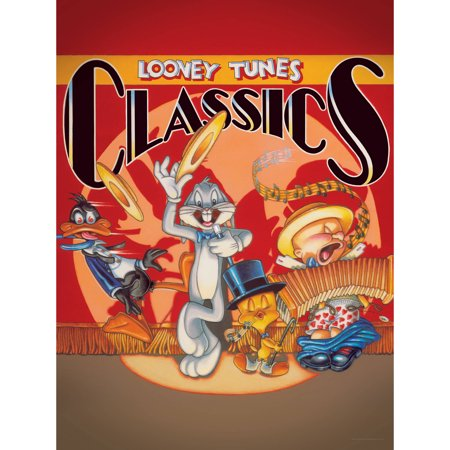 Bugs, Daffy, Tweety, and Elmer Looney Tunes Classics Wall Art
