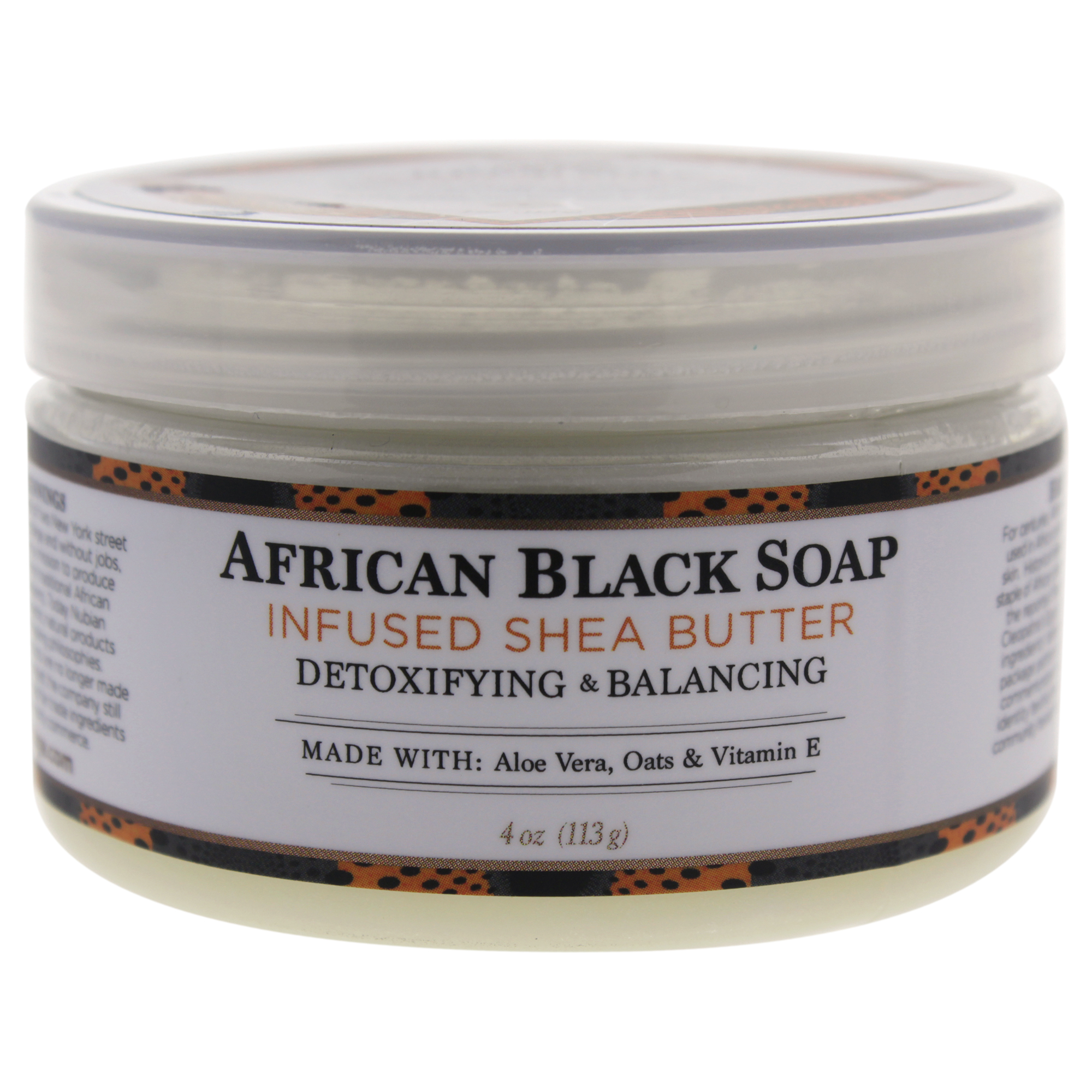 Shea Butter Infused with African Black Soap Extract