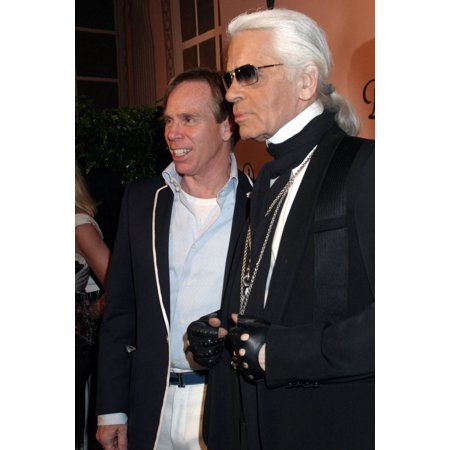 Tommy Hilfiger Karl Lagerfeld At Arrivals For Unveil The Night With Dom Perignon Vintage 1998 Skylight Studios New York Ny Thursday June 02 2005 Photo By Rob RichEverett Collection