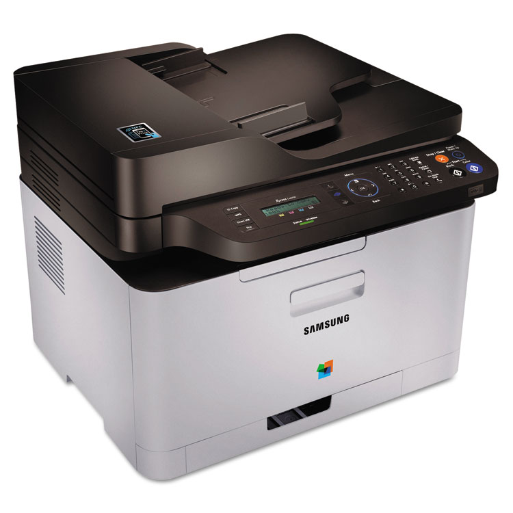 Samsung Xpress C460FW Color Wireless Multifunction Laser Printer, Copy/Fax/Print/Scan -SASSLC460FW