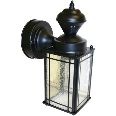 heath zenith sl 4135 bk shaker cove 1 light 150 degree motion. Black Bedroom Furniture Sets. Home Design Ideas