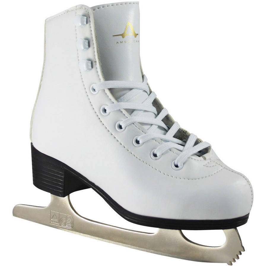 American Girls' Leather-Lined Figure Skates by