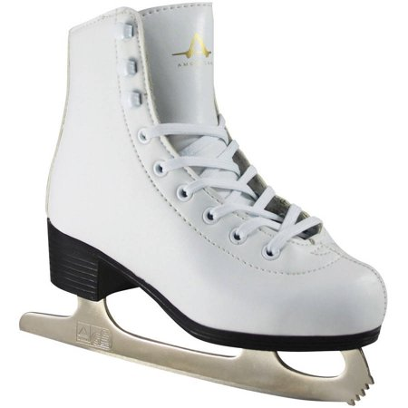 Image of American Girls' Leather-Lined Figure Skates