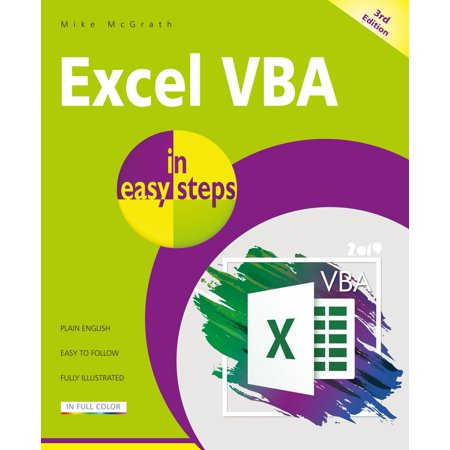 Excel VBA in Easy Steps (Sap Crystal Reports For Visual Studio 2017)
