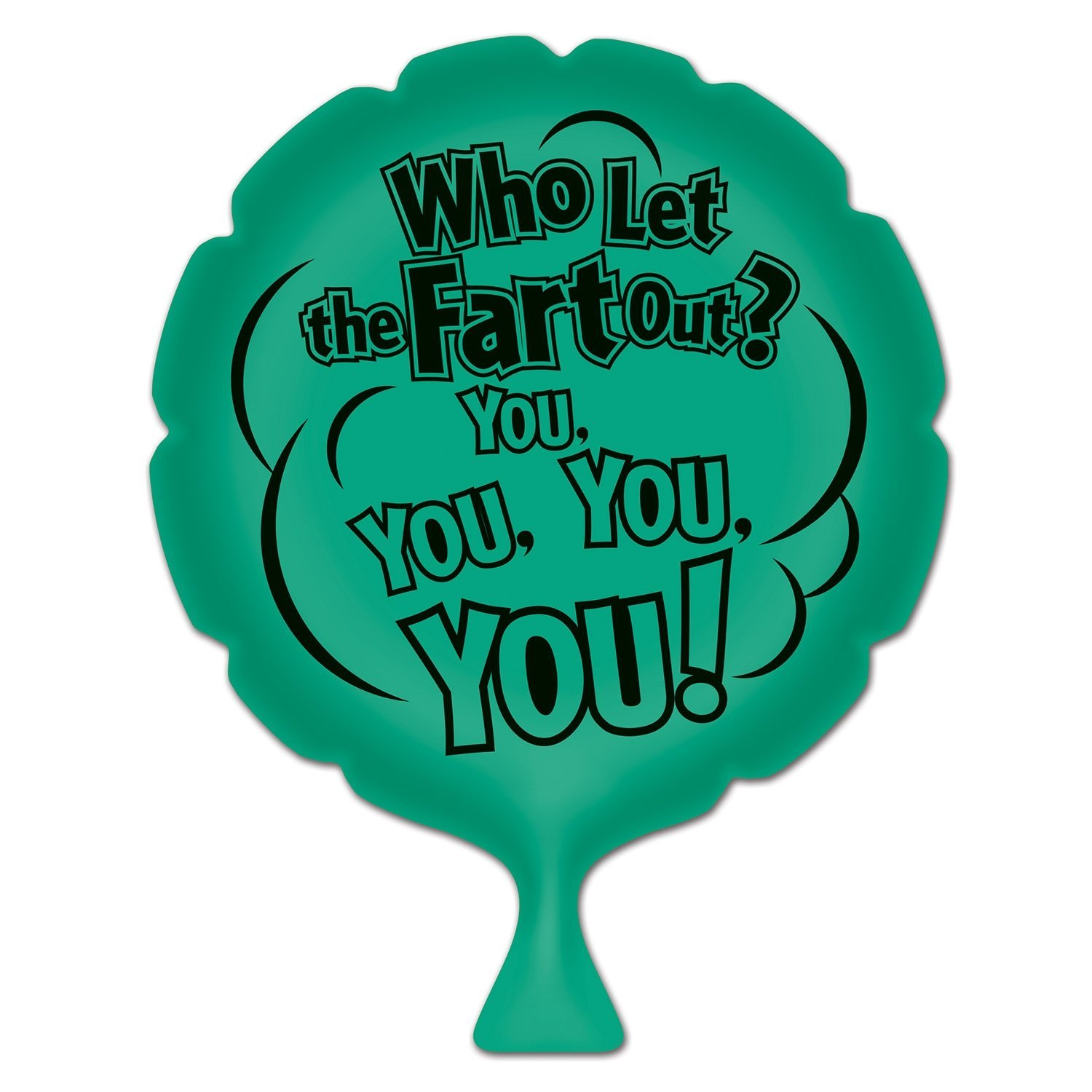 54258 Who Let The Fart Out Whoopee Cushion, 8-Inch, This item is a great value By Beistle