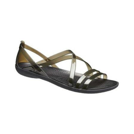 dd5419d01701a Crocs - Crocs Women's Isabella Strappy Sandals - Walmart.com
