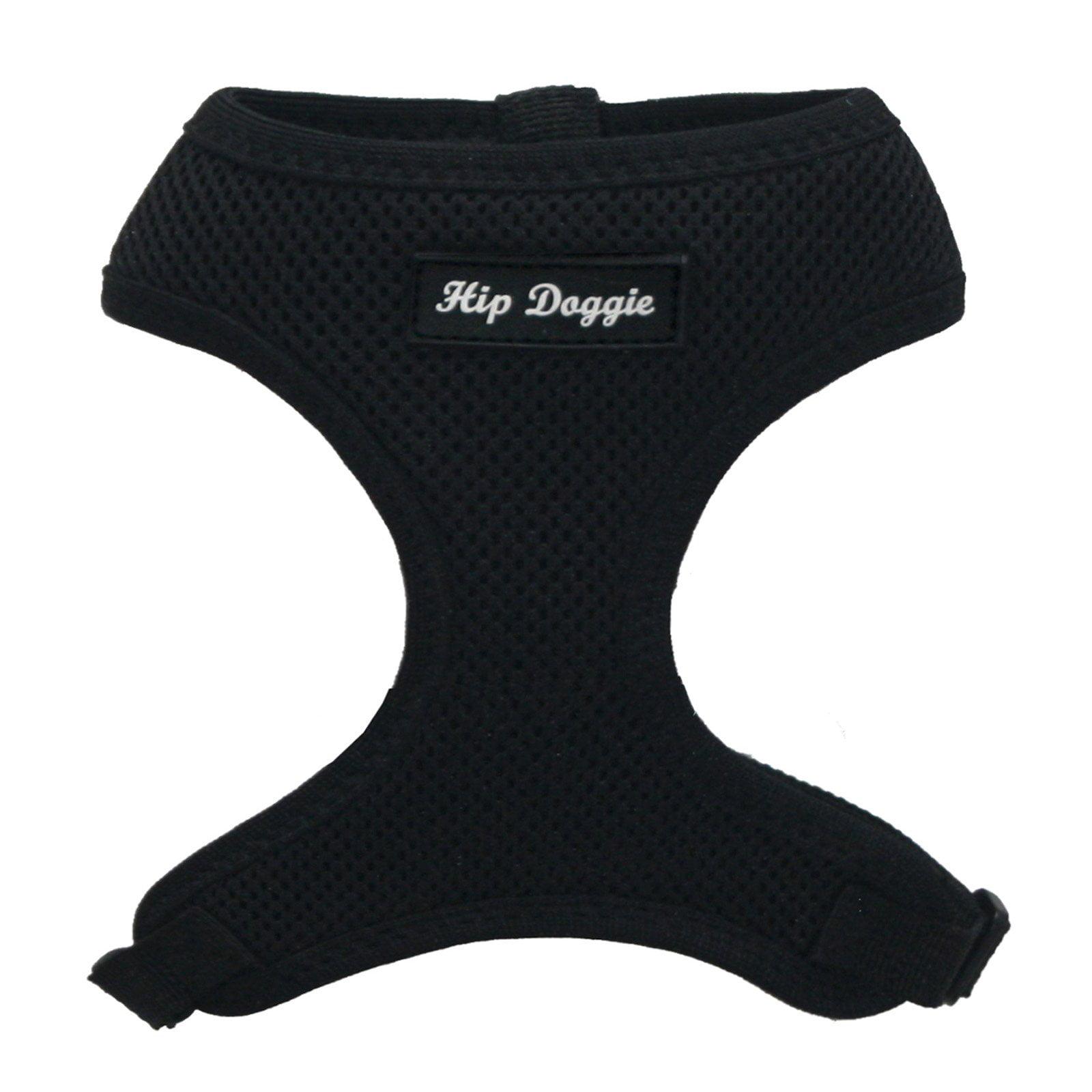 Hip Doggie Ultra Comfort Black Mesh Harness Vest