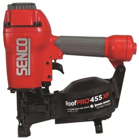 RoofPro 455XP 3D0101N Roofing Nailer, 120 Nails, 3/4 - 1-3/4 in 11 ga Wire Weld Collated Nail