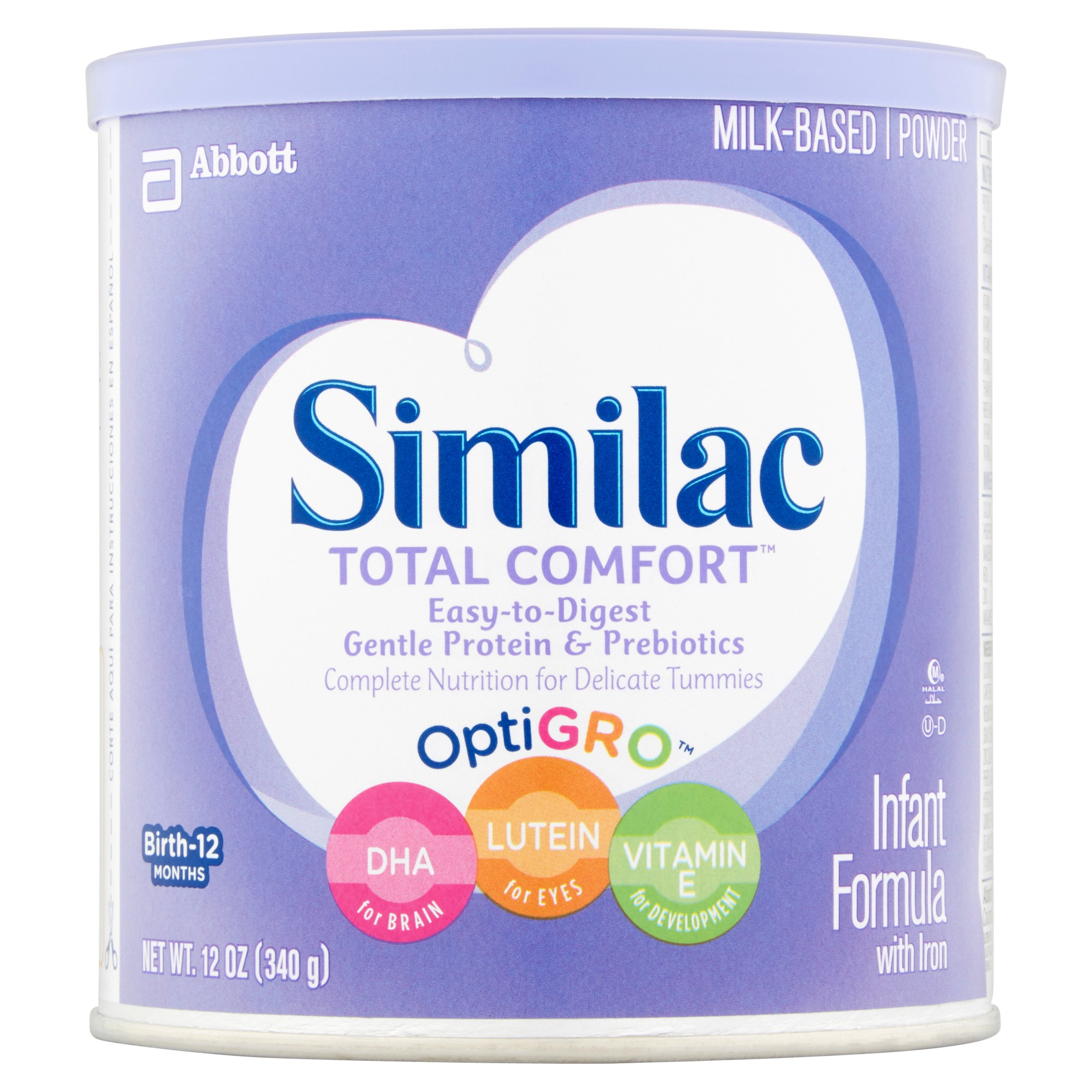 Similac Total Comfort Infant Formula with Iron, Powder, 12 oz