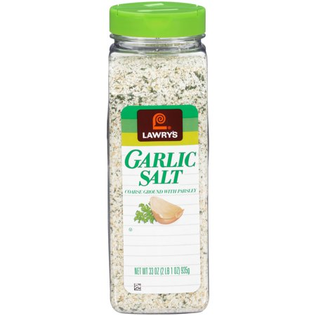 Lawry's Coarse Ground Garlic Salt With Parsley, 33 oz - Garlic Edamame Recipe