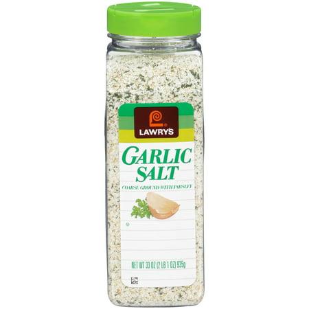 Lawry's Coarse Ground Garlic Salt With Parsley, 33 oz