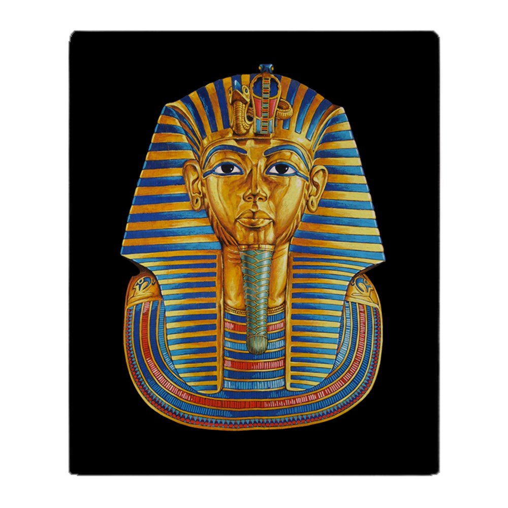 "CafePress King Tut Blanket Soft Fleece Throw Blanket, 50""x60"" Stadium Blanket by"