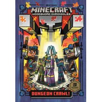 Stepping Stone Book(tm): Dungeon Crawl! (Minecraft Woodsword Chronicles #5) (Hardcover)