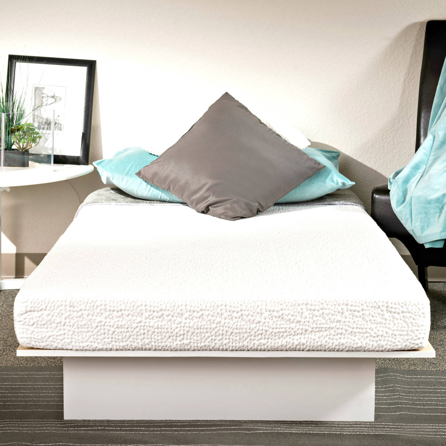 "Best Choice Products 10"" Dual Layered Memory Foam Mattress Queen-  CertiPUR-US Certified Foam - Walmart.com"