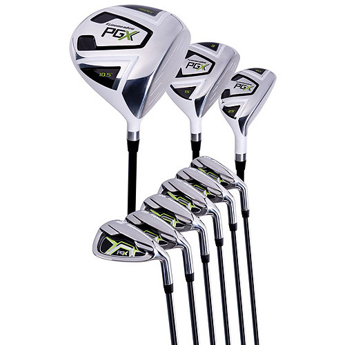 Pinemeadow Golf PGX Men's Complete 9-Piece Golf Club Set, Right-Handed