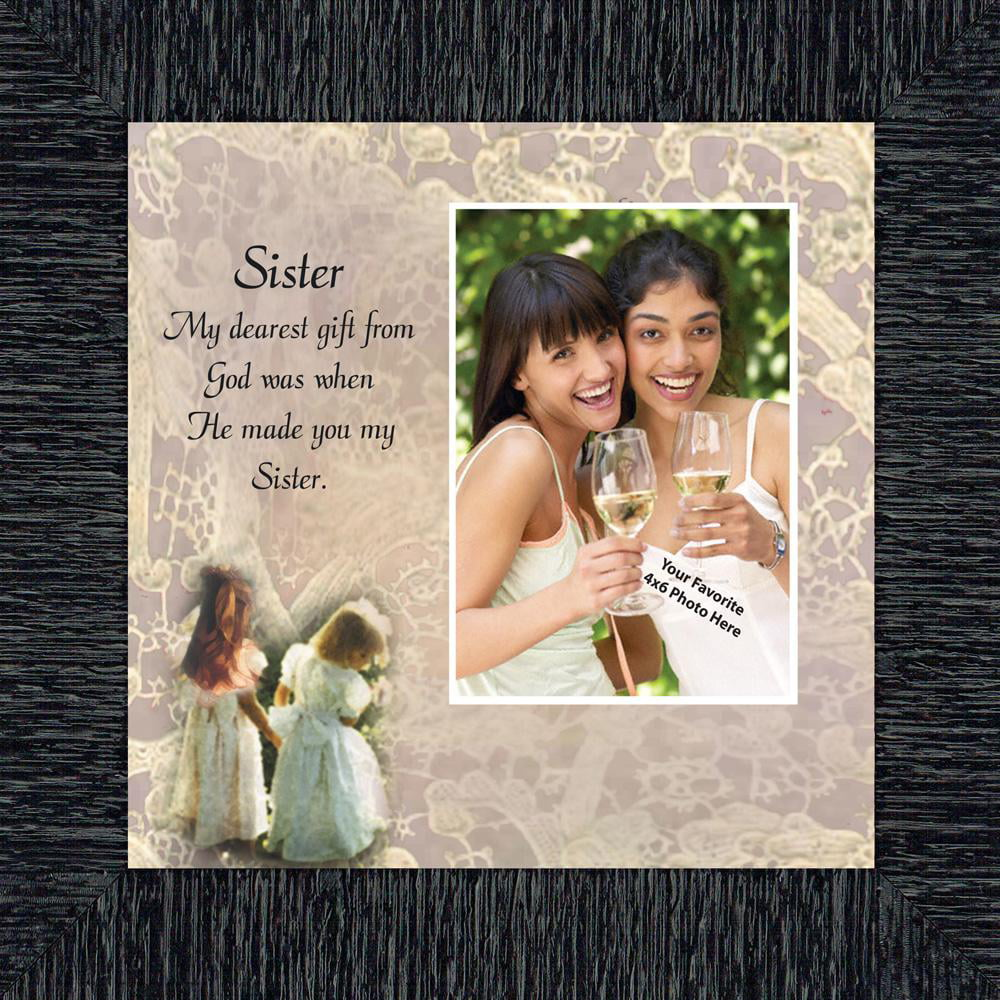 Sister Great Birthday Gift For Your Sister Personalized Picture