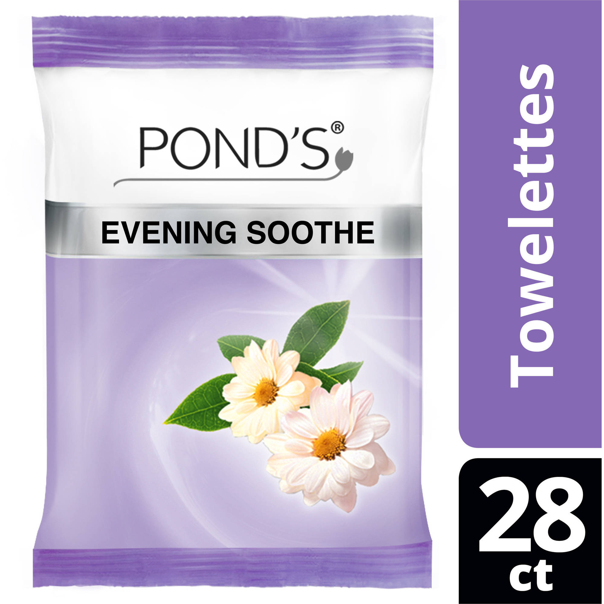 Pond's Evening Soothe Wet Cleansing Towelettes, 30 ct
