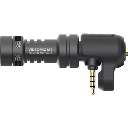 Rode VideoMic Me Compact TRRS Cardioid Mini - Shotgun Microphone for Smartphones Broadcast Grade Shotgun Microphone