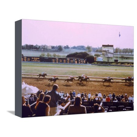 Keenland Racetrack, Lexington, KY Stretched Canvas Print Wall Art By Ken Glaser - The Party Store Lexington Ky