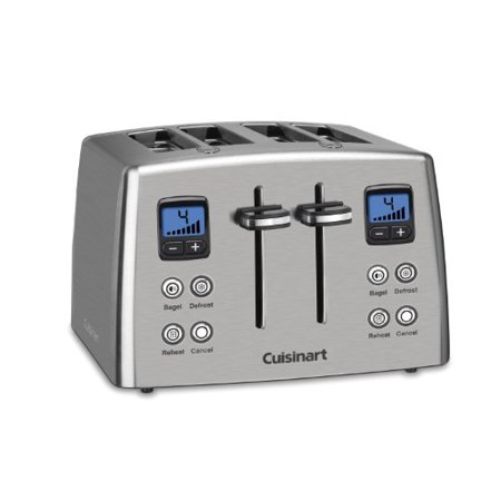 Cuisinart CPT-435 Countdown 4-Slice Stainless Steel Toaster [Kitchen]
