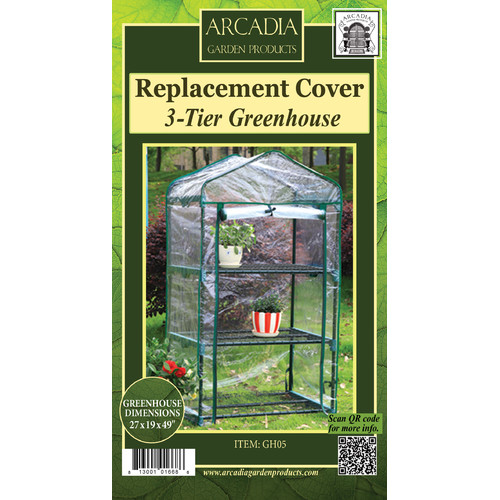 Arcadia Garden Products Mini Greenhouse Replacement Cover