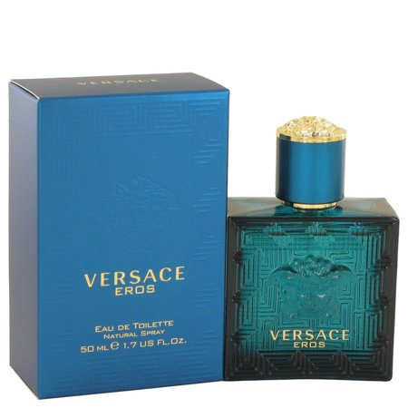 Versace Versace Eros Eau De Toilette Spray for Men 1.7