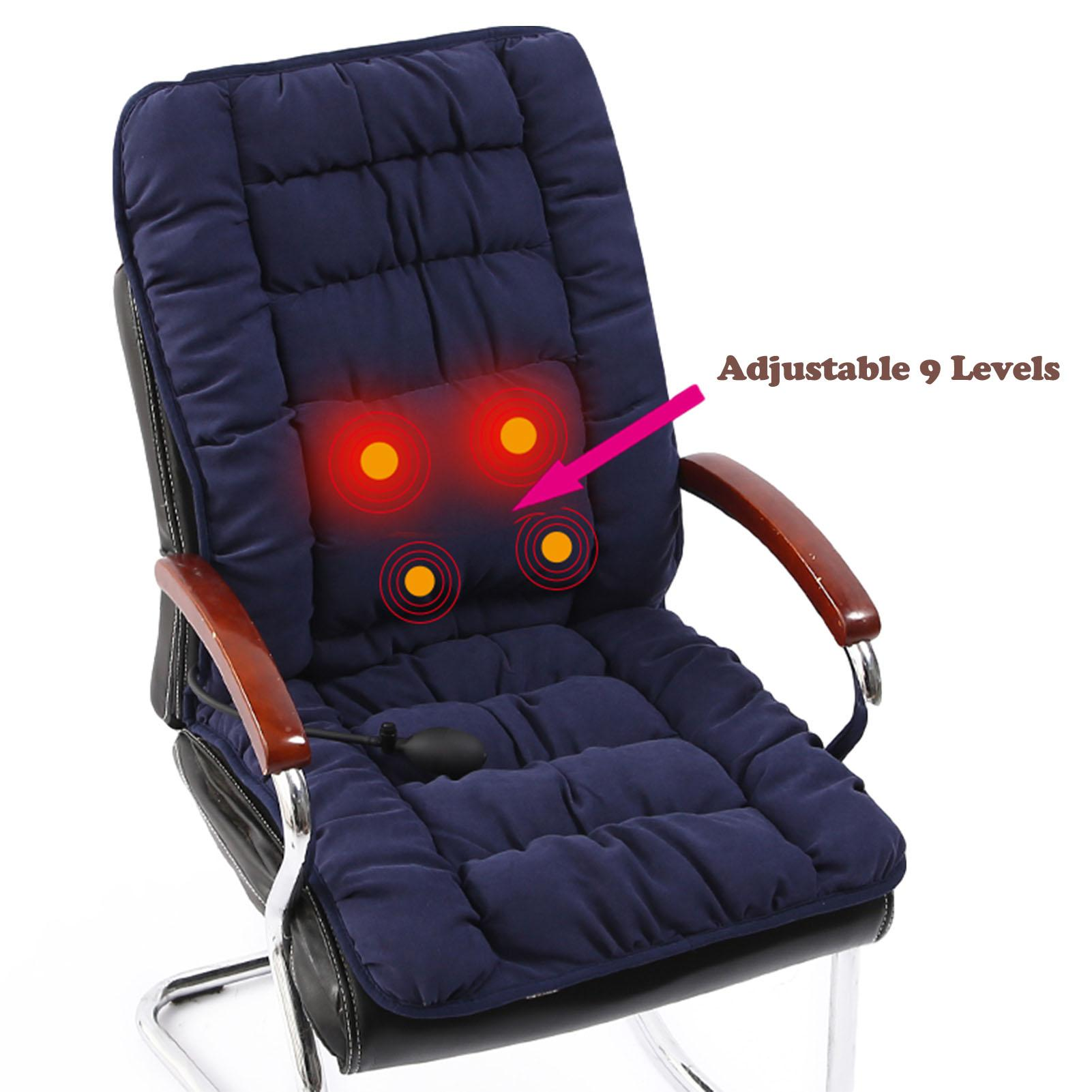 Universal Seat Heater with Adjuatable Temperature Office Chair Use Heated Seat Cover for Home COMFIER Heated Seat Cushion