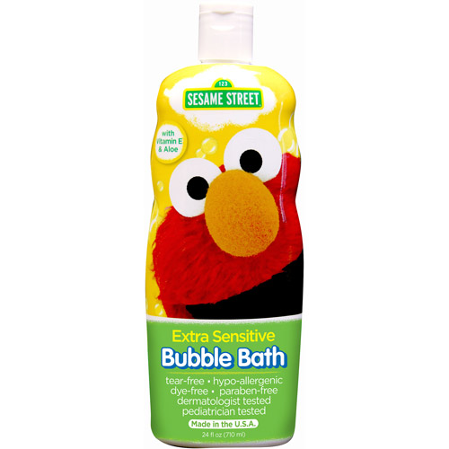 Sesame Street Extra Sensitive Bubble Bath 24 fl oz