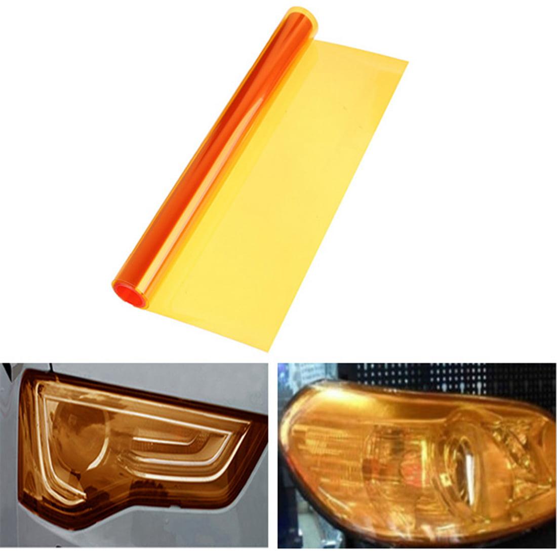 "Car Headlight Taillight Fog Light 12""x48"" 7 Color Tint Head Lamp Vinyl Sticker Film Sheet Decal Decor Cover Universal Vehicle Auto Truck SUV Van MATCC  US"