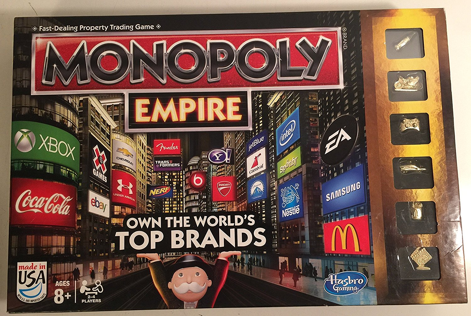 Monopoly Empire Own The World's Top Brands By Hasbro by