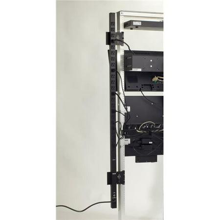 15 amp 24 Outlet 5 15R Vertical PDU Single Circuit