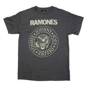 Ramones Distressed Crest T-Shirt Medium