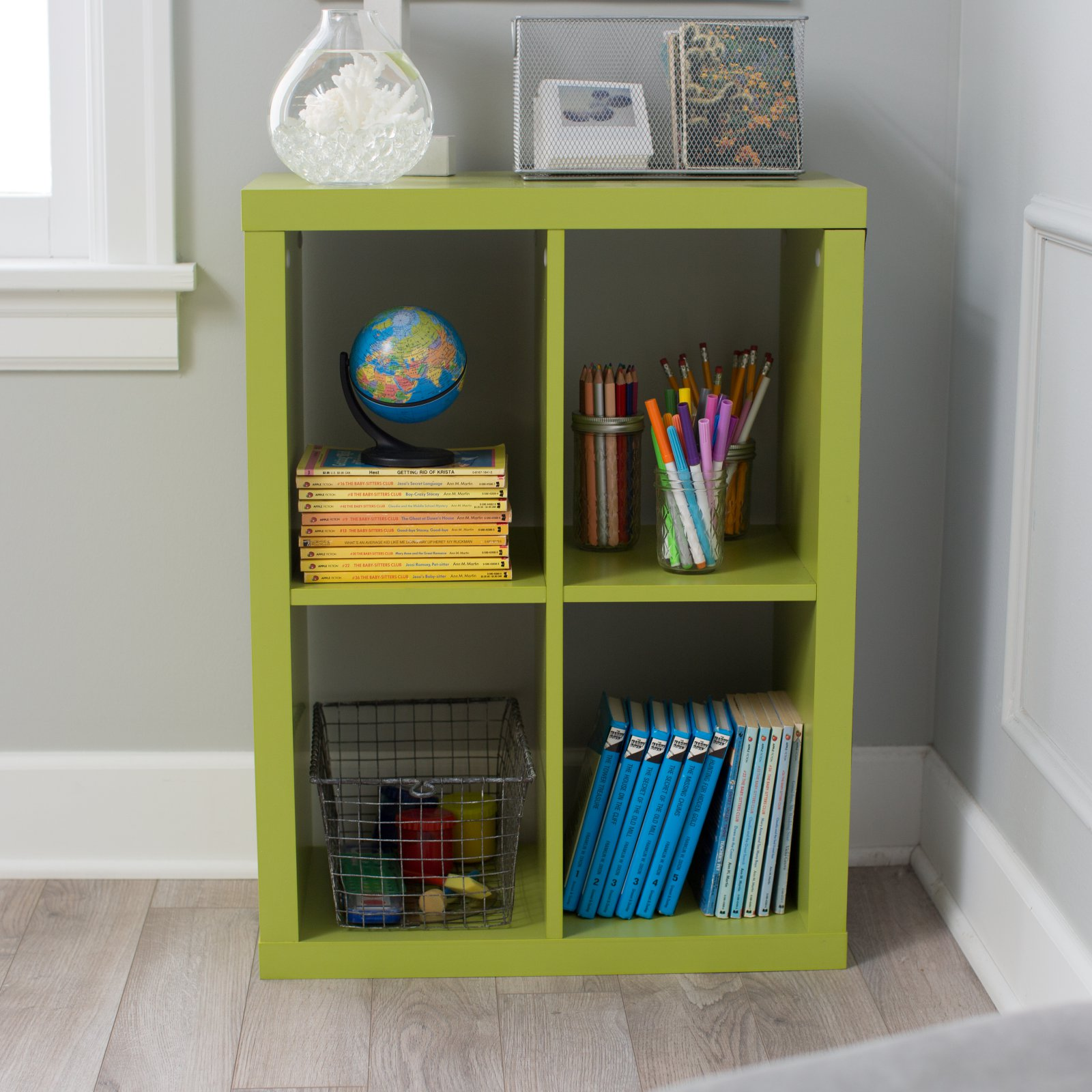 Classic Playtime 4-Cube Bookcase