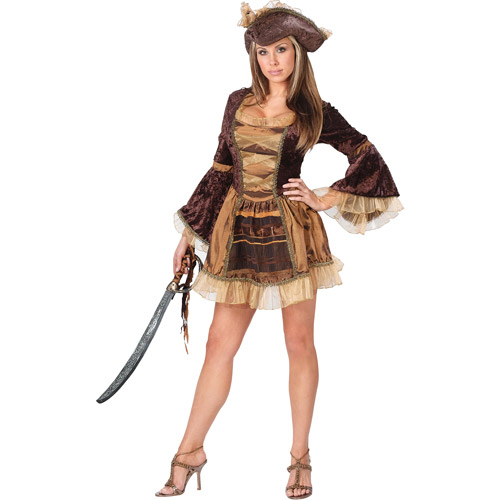 Sassy Victorian Pirate Adult Halloween Costume