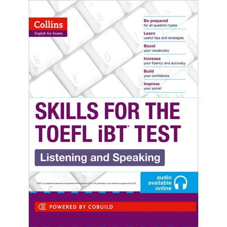 TOEFL Listening and Speaking Skills